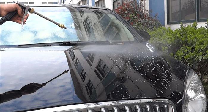 家用洗车机费水吗