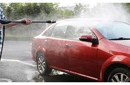 使用高压洗车机洗车的配套设备