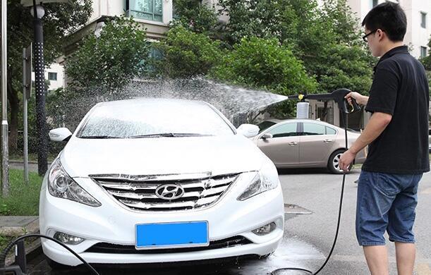 亿力洗车机不光能洗车,用途多着呢!