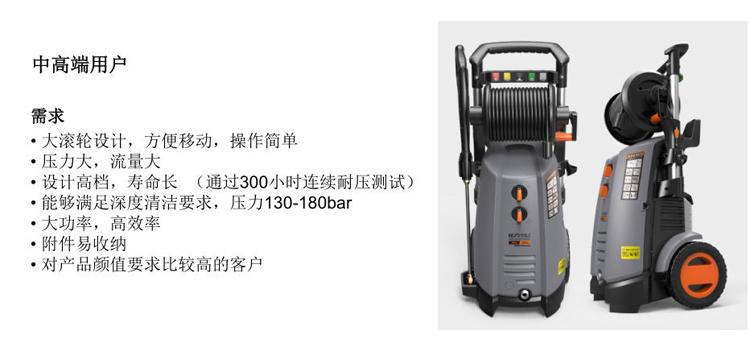 亿力家用高压洗车机YLQ7580G-180B