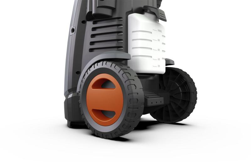 亿力高压洗车机YLQ7580G-180G设计原理